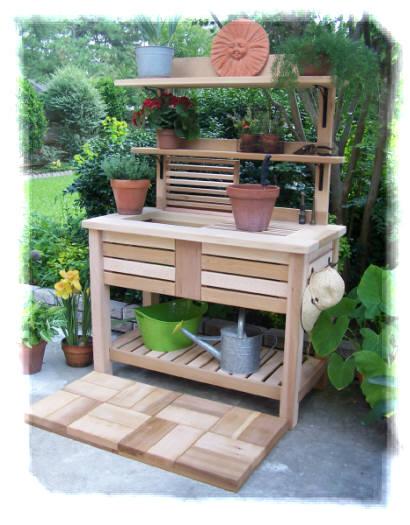 Terrific Potting Bench Ibusinesslaw Wood Chair Design Ideas Ibusinesslaworg