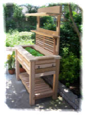 Stupendous Potting Bench Ibusinesslaw Wood Chair Design Ideas Ibusinesslaworg