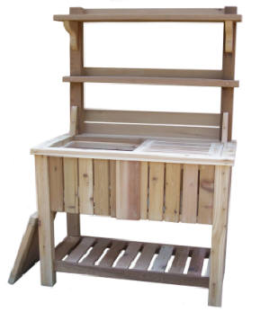 4u0027 potting bench